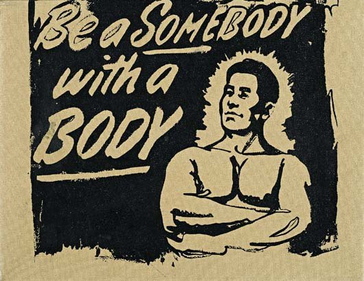162: ANDY WARHOL, Be Somebody with a Body, 1985
