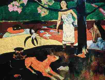 225: VIK MUNIZ, Pastorales Tahitiennes, after Paul Gaug