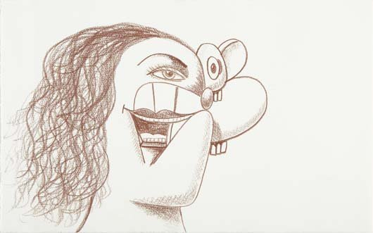 247: GEORGE CONDO, Untitled, 2010