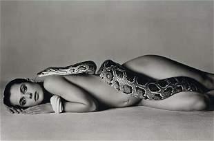 56: RICHARD AVEDON, Nastassja Kinski and the Serpent, L