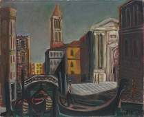 105: EMILIANO DI CAVALCANTI, Venezia, 1956