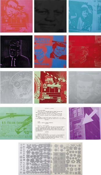 42: ANDY WARHOL, Flash - November 22, 1963, 1968
