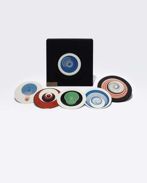 74: MARCEL DUCHAMP, Rotoreliefs (Optical Disks), 1935/1