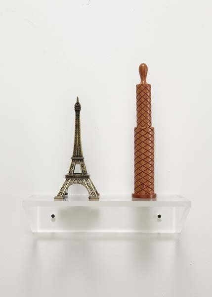 77: HAIM STEINBACH, Untitled (Eiffel Tower, Pepper Mill