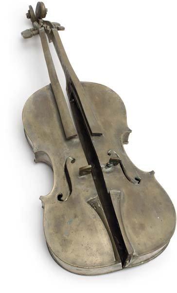 78: ARMAN, Untitled (Violin Découpé), 1972
