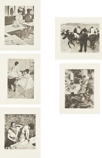 91: SHERRIE LEVINE, After Edgar Degas portfolio, 1987