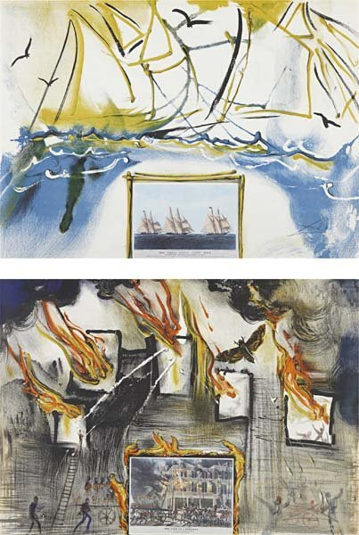 94: SALVADOR DALI, Fire, Fire, Fire; and American Yacht