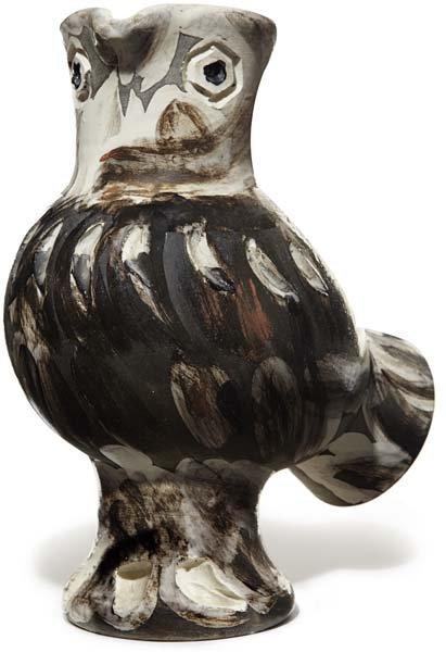 97: PABLO PICASSO, Wood Owl, 1969