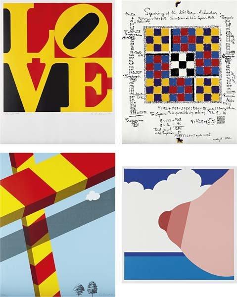 297: VARIOUS ARTSITS, Graphic USA portfolio, 1968