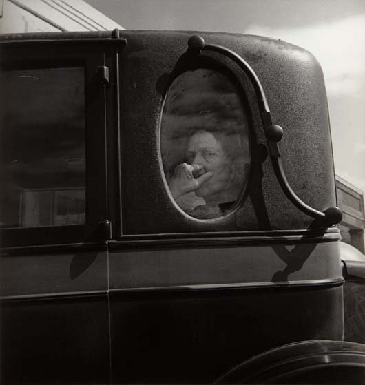 DOROTHEA LANGE, Funeral Cortege, End of an era in a