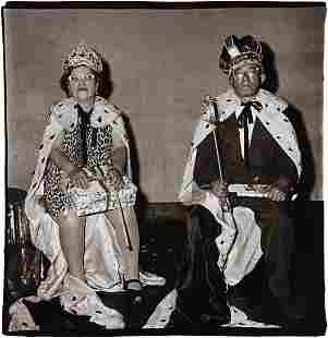 DIANE ARBUS, King and Queen of a senior citizens'
