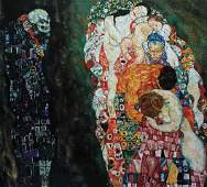 VIK MUNIZ, Death and Life after Gustav Klimt from