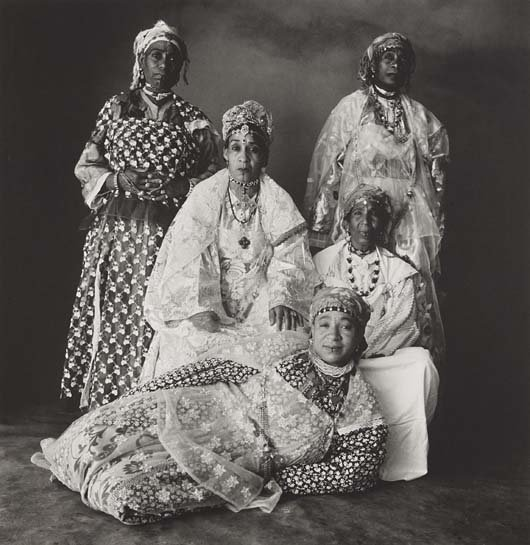 IRVING PENN, Five Moroccan Women, 1971