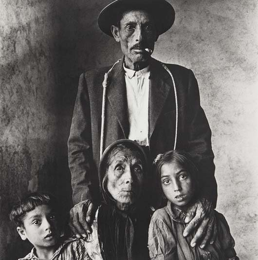 IRVING PENN, Gypsy Family, 1966