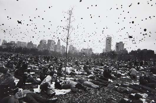 GARRY WINOGRAND, Peace Demonstration, Central Park, New