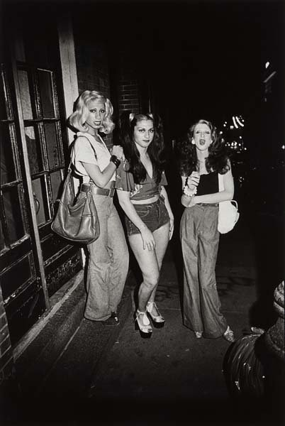 NAN GOLDIN, Marlene, Colette, and Naomi on the street,