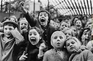 ALFRED EISENSTAEDT, Children at a Puppet Theater,
