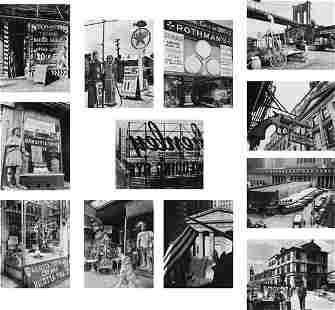 BERENICE ABBOTT, New York Portfolio III