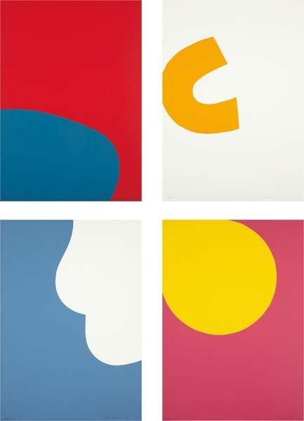 LEON POLK SMITH, Untitled: four prints, 1974
