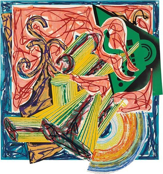 FRANK STELLA, The Butcher Came and Slew the Ox, Plate