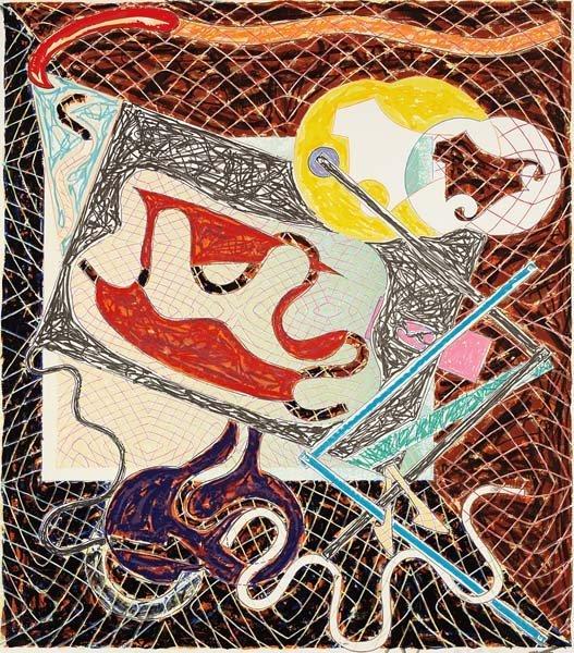 FRANK STELLA, Shards III, from Shards series, 1982