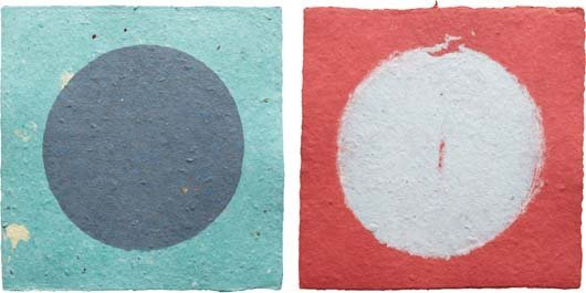 KENNETH NOLAND, Pairs 10, from the Handmade Paper