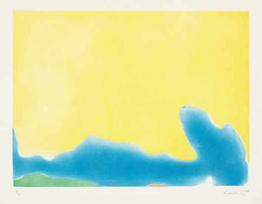 HELEN FRANKENTHALER, Yellow Span, 1968