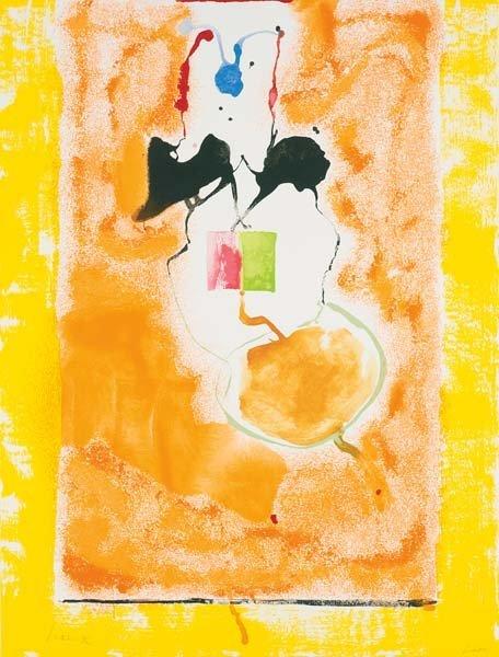 HELEN FRANKENTHALER, Solar Imp, 2001