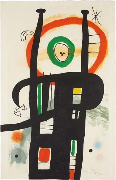 JOAN MIRÓ, Le grand ordonnateur (ordinateur) (The Great