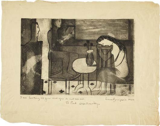 LOUISE BOURGEOIS, Jeunesse (Youth), 1941-43