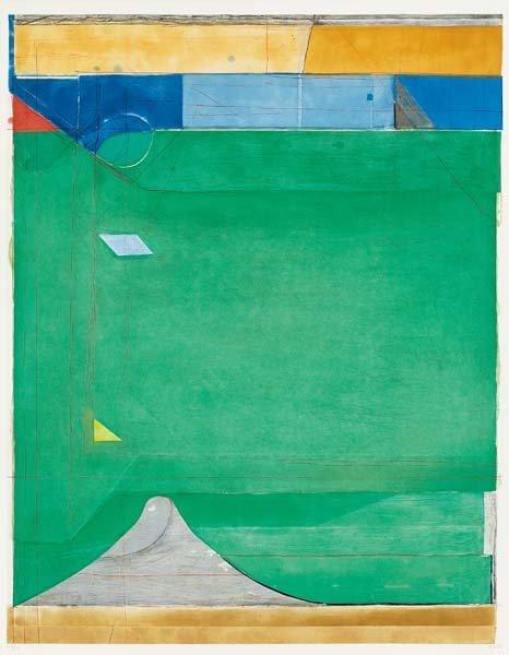 RICHARD DIEBENKORN, Green, 1986