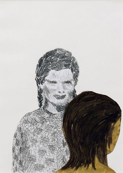 51:  ROSEMARIE  TROCKEL  (b. 1952)  Untitled (Zwei K&ou