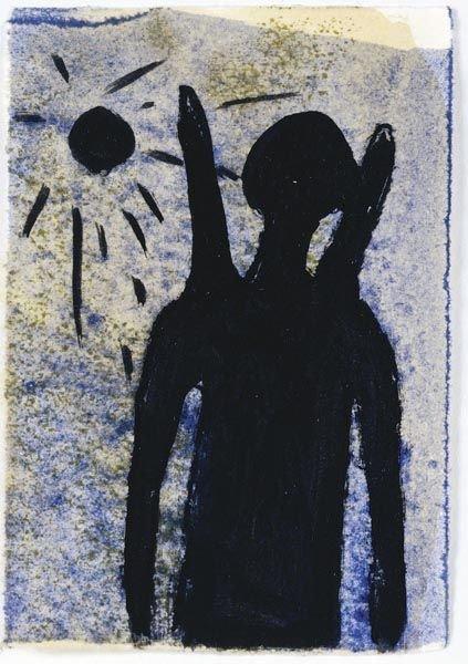 57:  ROSEMARIE  TROCKEL  (b. 1952)  Untitled  Mixed med