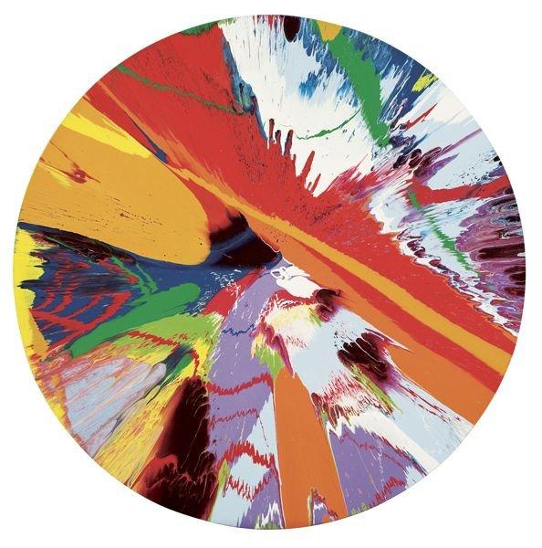1014:  DAMIEN  HIRST  (b. 1966)  Beautiful Axe , Slash,