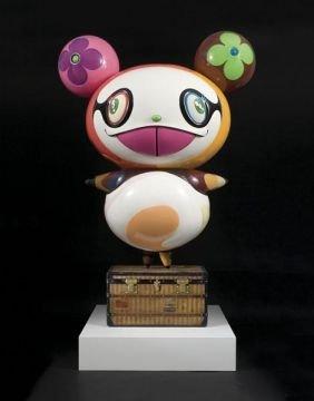 TAKASHI  MURAKAMI  (b. 1963)  Panda.  Fiberglass
