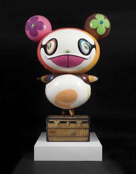 1016:  TAKASHI  MURAKAMI  (b. 1963)  Panda.  Fiberglass