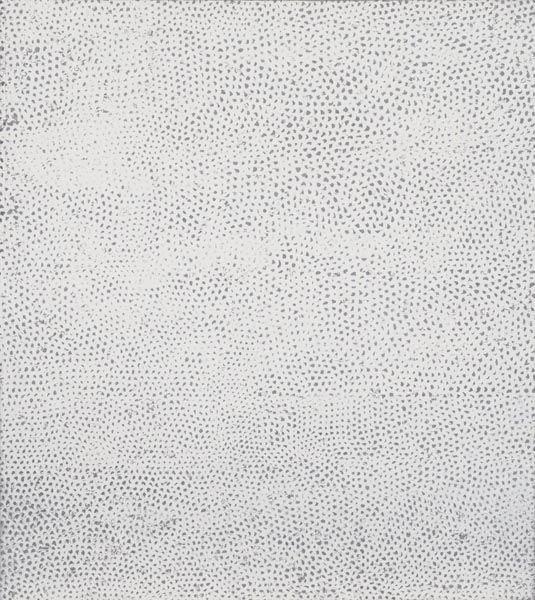 1055:  YAYOI  KUSAMA  (b. 1929)  Infinity Nets (White).