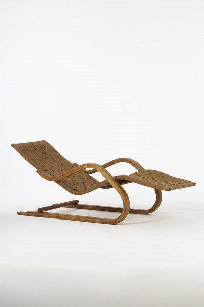 2007:  ALVAR  AALTO    Lounge chair, model no. 39,  39,