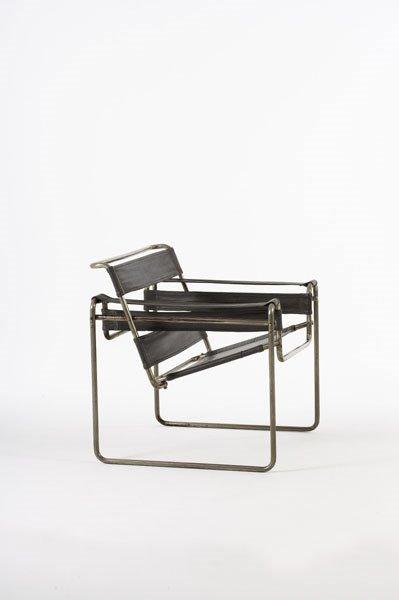 """2012:  MARCEL  BREUER    """"Wassily"""" club chair, model no"""