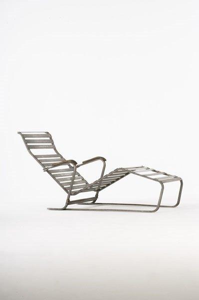 2014:  MARCEL  BREUER    Chaise longue, model no. 313,