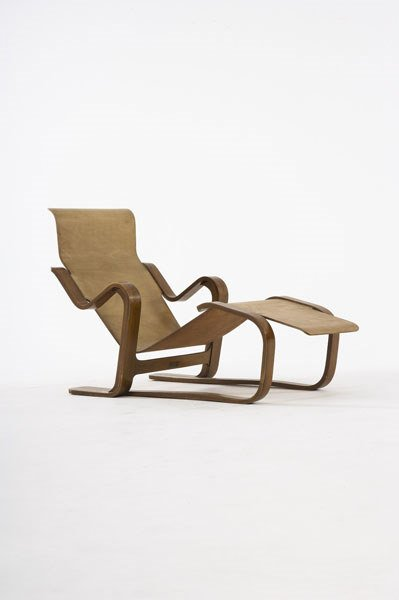 2016:  MARCEL  BREUER    Chaise longue,  ca. 1936 Manuf