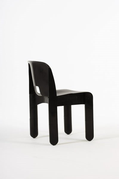 "2018:  JOE  COLOMBO    ""Universale"" stacking chair,  ca"