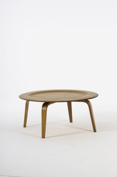 2023:  CHARLES  AND RAY EAMES    CTW-3 table,  ca. 1945