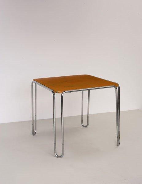 3006:  MARCEL  BREUER    Table, model no. B10, ca. 1929