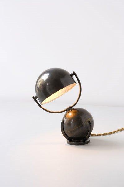 3007:  FELIX  AUBLET    Table lamp, ca. 1925-1930  Pati