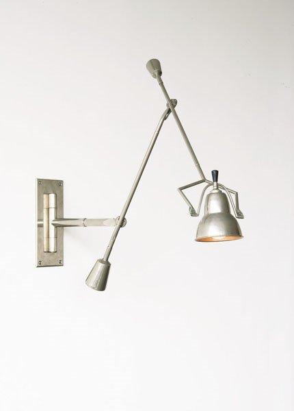3011:  EDOUARD-WILFRED  BUQUET    Adjustable wall lamp,