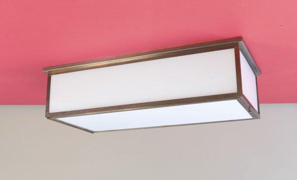 3021:  WALTER  GROPIUS    Rare ceiling light, 1925  Mad