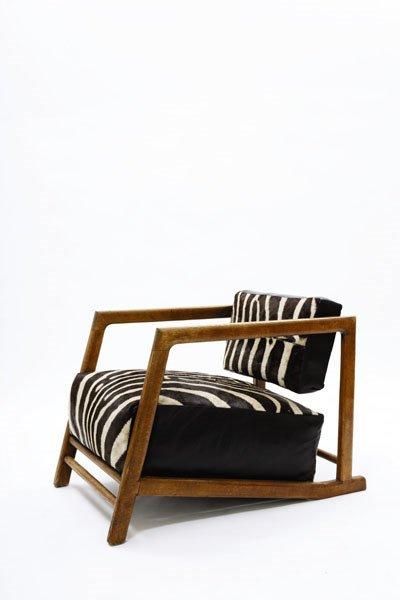 3061:  DENHAM  MACLAREN    Rare armchair, ca. 1930  Oak