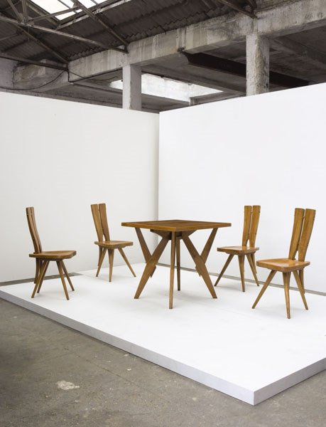 3129:  CARLO  MOLLINO    Dining suite, from the Pavia R
