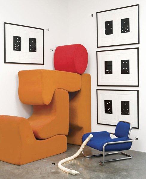 20:  KWOK  HOI CHAN    Lemon Sole chair, ca. 1970.  Man